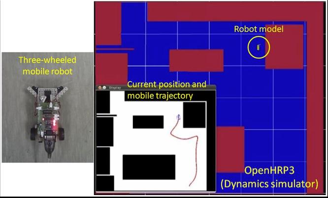 RTミドルウェアの学習を目的とした安価で入手容易なロボット上での実行環境